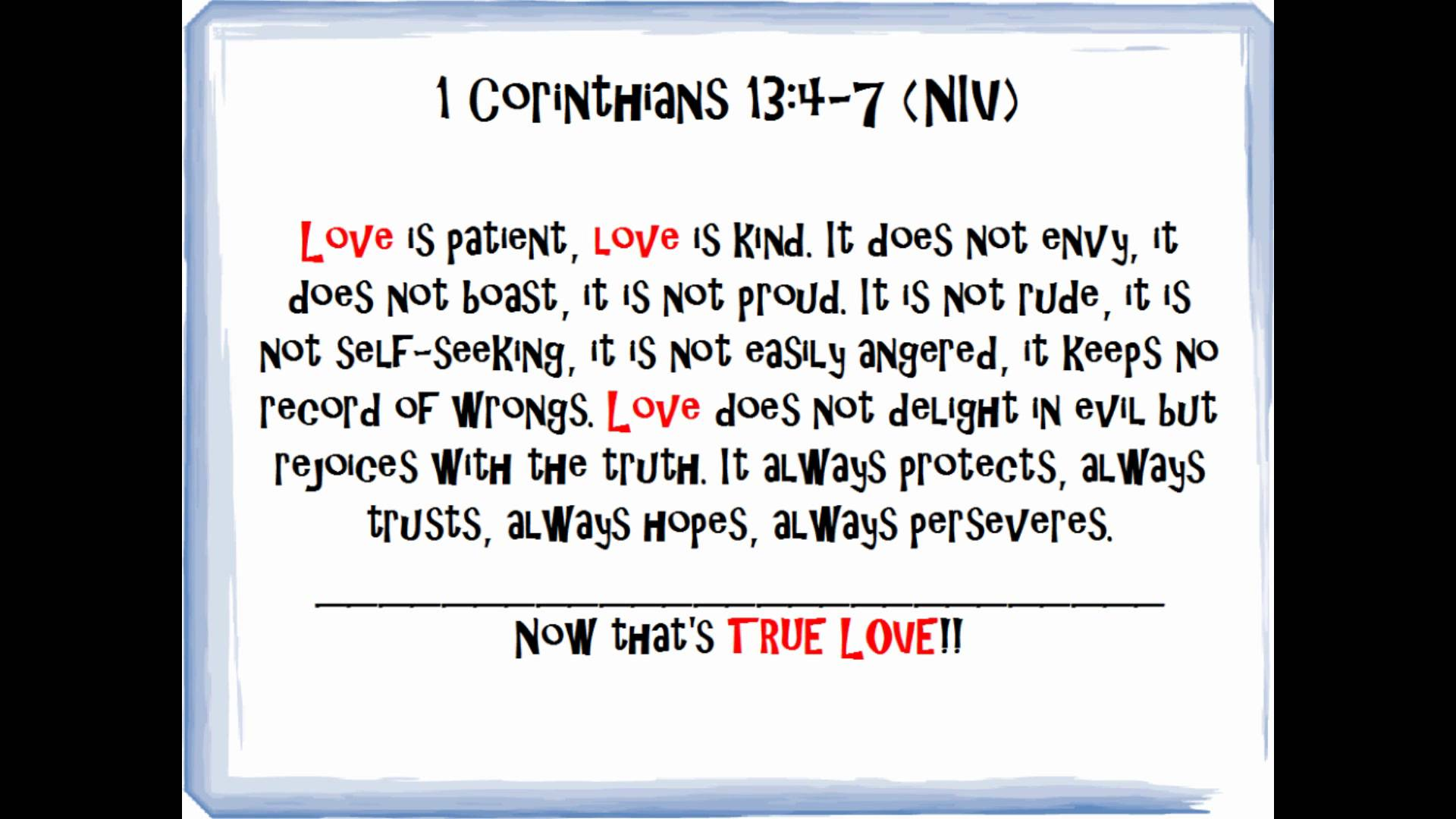 bible quotes on love pt 1 of bible verses on love