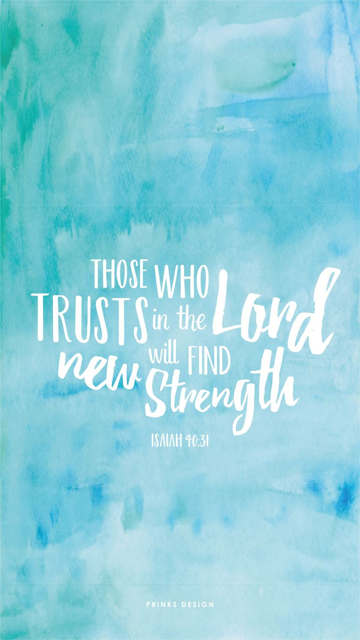 freebiesfriday / bible verse / book of isaiah / strength / typography / watercol...